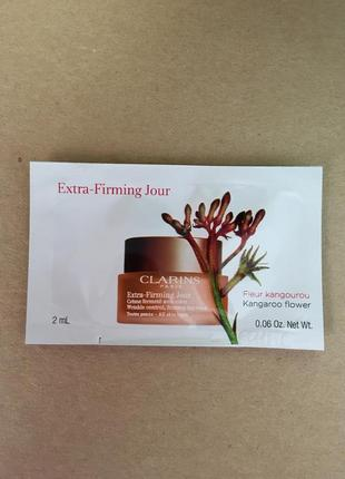 Clarins extra-firming day cream дневной крем для лица в пробниках