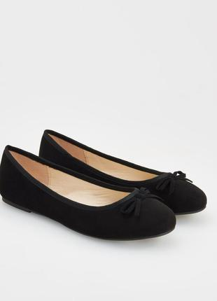 Черные балетки reserved