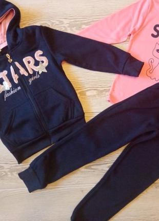 Детский спортивный костюм теплый 3в1 для девочки венгрия sincere 116-146