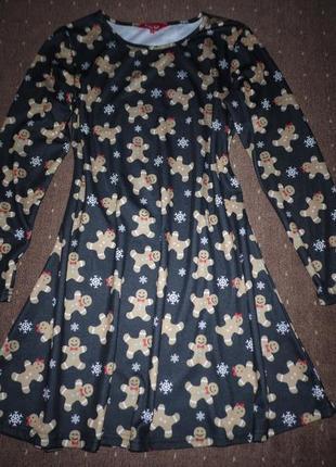 Новогоднее платье размер l
