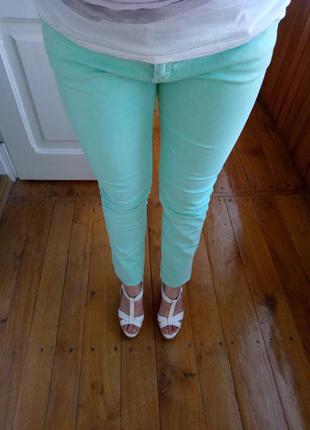 Супер штаны от pull&bear/ м'ятні штани