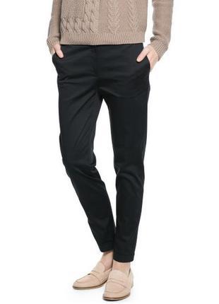 Черные брюки класика с карманами размер 36 с/м от mango