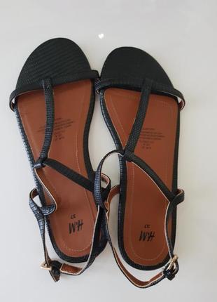 Босоніжки сандалі відкриті чорні