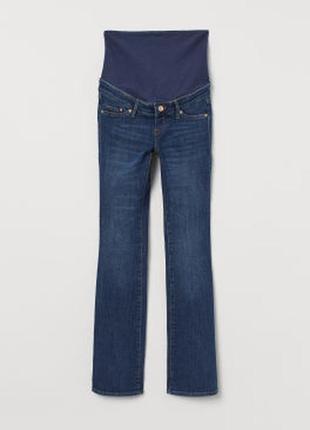 Прямі джинси для вагітних h&m mama/ прямі джинси для вагітних