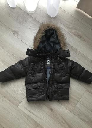 Куртка демисезонная 9-12 zara