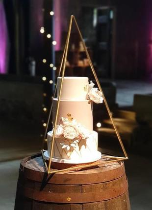 Тортівниця підставка під торт рамка декор