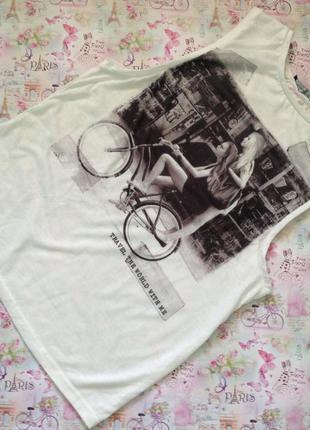 Стильная футболка с принтом/s
