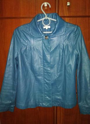 Кожаная куртка пиджак chloe оригинал