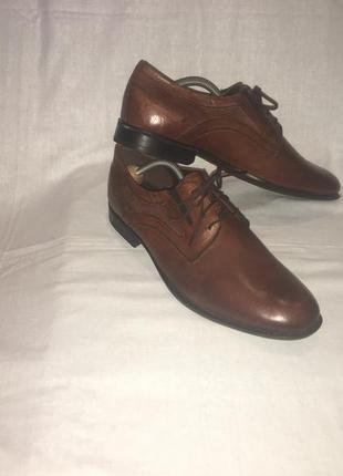 Туфли * am shoe company* кожа германия р.44 (29.50см)