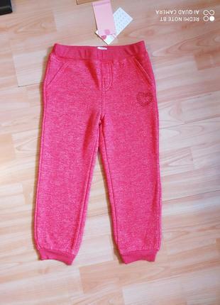 Красивые штанишки с начесиком для девчушки.