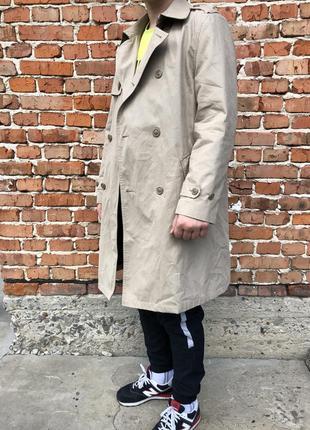 Мужской тренч с подкладом smart coat как burberry