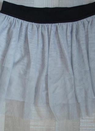Красивая фатиновая юбка итальянского бренда terranova, р. l