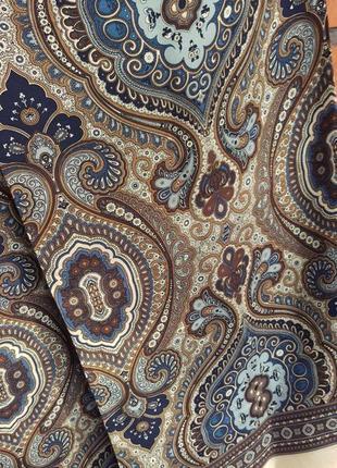 Натуральный шелк мужской шарф