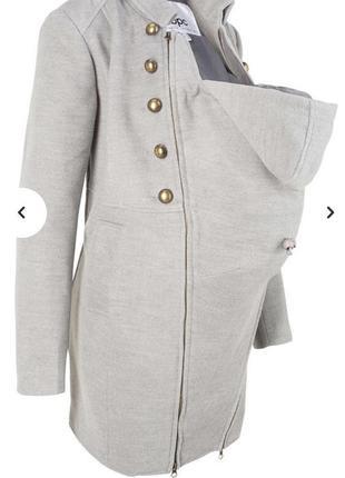 Bps пальто для беременных с карманом-вкладкой для малыша