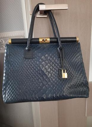 Кожаная сумка, сумочка из натуральной кожи