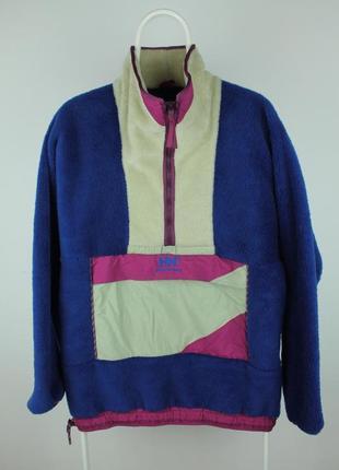 Оригинальный винтажный анорак helly hansen vintage fleece anorak