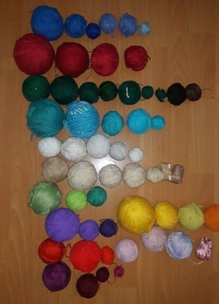 Нитки для вязания, поделок, нитки, нити, пряжа, клубки, нитки для в'язання ссср