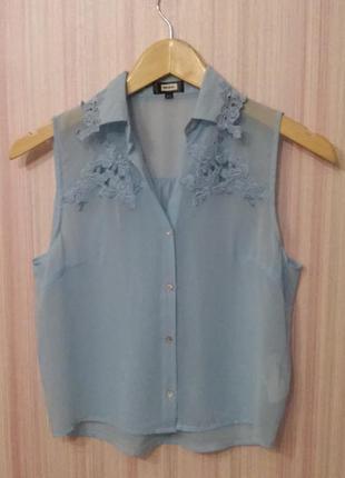 Супер цена! легкая нежная блузочка