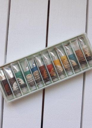 Краски художественные масляные мосбытхим , набор, гост 1977, фарба, фарби художні ссср