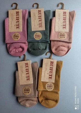 Дуже якісні, демисезоні, плотні носки без резинкир 35-40