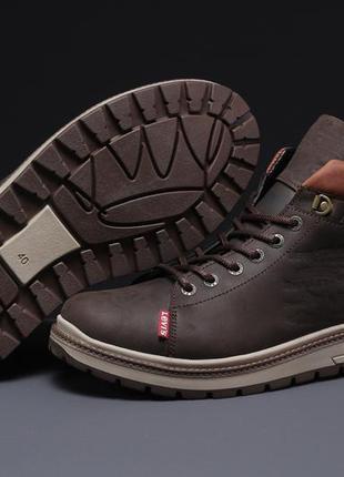 Зимние мужские ботинки 31611 ► levi's (мех)