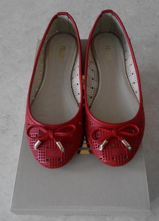 Fellini летние балетки , размер36