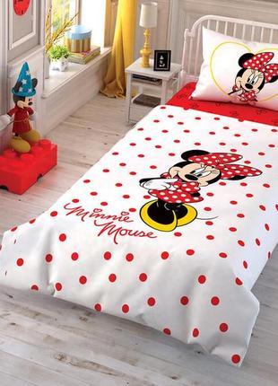 Комплект детского постельного белья minnie mouse