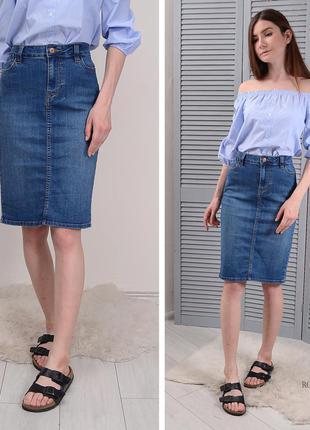 Плотненькая джинсовая юбка next