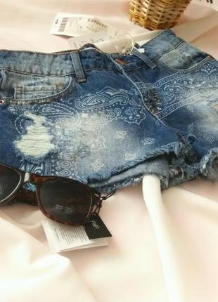 Джинсовые шорты fb sister