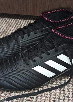 Сороконожки (бампи, бутси, футзалки) adidas predator. размер 36
