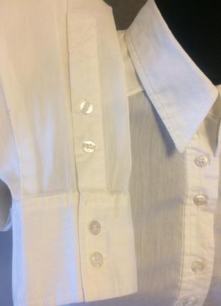 Рубашка белая