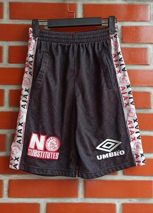 Umbro ajax мужские футбольные шорты размер s 30