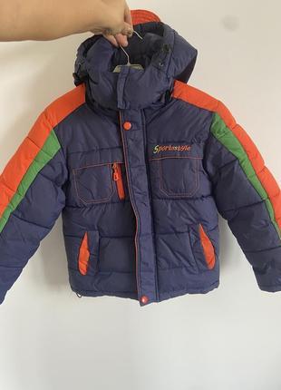 Дитяча зимова курточка.