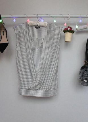 Стильная блузка с напуском