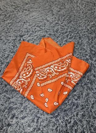 Оранжевая бандана