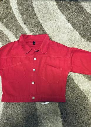 Куртка котон-джинс
