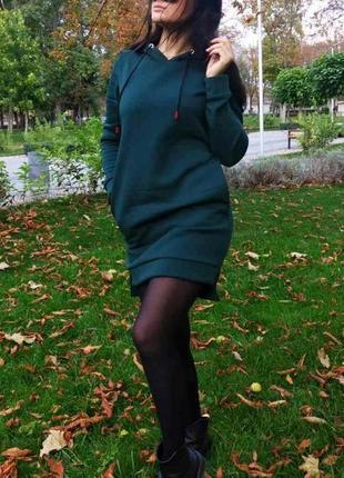 Женские утепленные платья