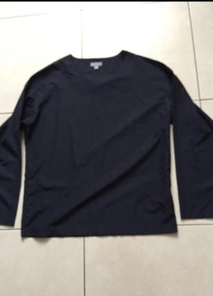 Блуза блузка кофта свитер синяя нарядная
