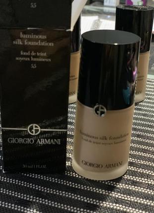 Тональный крем, тональная основа giorgio armani luminous silk foundation