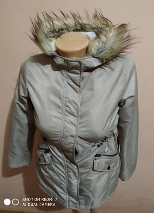 Куртка парка для дівчинки