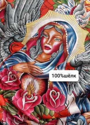 Шёлковый платок шарф эксклюзив christian oudigier