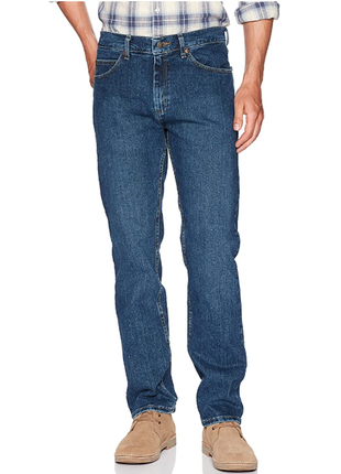 Классические джинсы lee regular fit straight leg размер 40x34