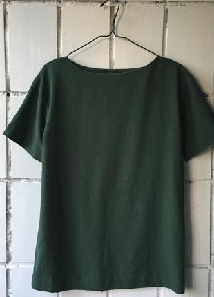 Зеленая блуза cos