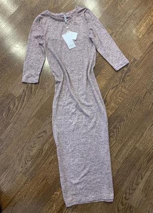 Трикотажне плаття міді