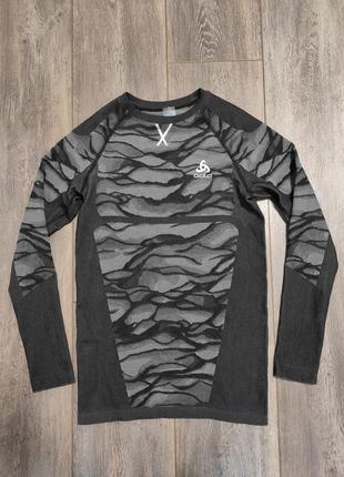 Термофутболка odlo blackcomb 187082   unisex