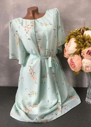 Шикарное миди платье воздушное