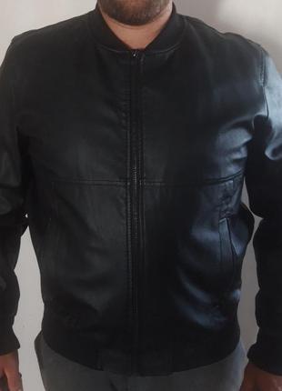 Куртка мужская из эко - кожи