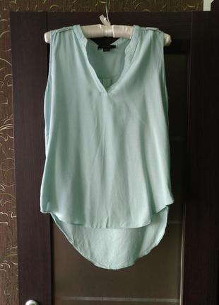 Мятная блуза без рукавов atmosphere