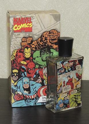 Marvel comics invincible 75 ml для мальчиков