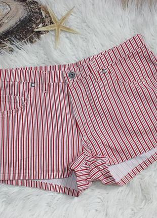 29 36/38 короткие шорты в полоску от mustang jeans